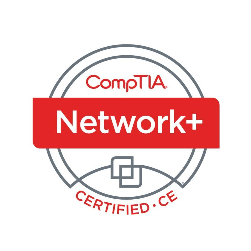 NetworkPlus Logo Certified CE